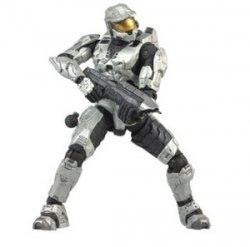 Halo 3 Series 1 - Spartan Soldier Mark VI Armor (White) 131002fnp