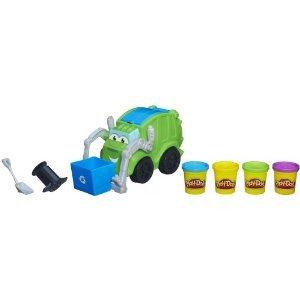 Play-Doh Trash Tossin' Rowdy the Garbage トラック ミニカー ミニチュア 模型 プレイセット自動車 ダイ