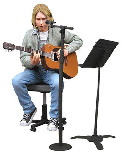 Nirvana - Action Figure: Kurt Cobain (Unplugged)