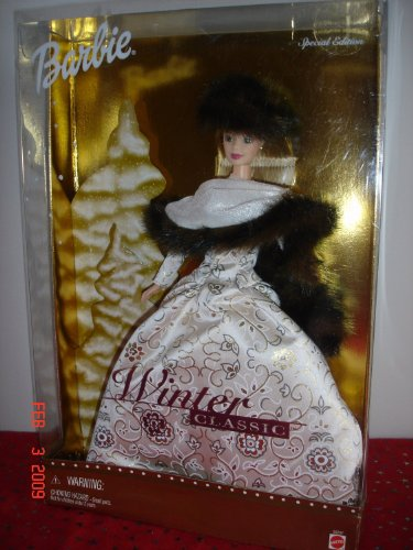 Barbie バービー Doll Winter Classic Special Edition 2001 人形 ドール