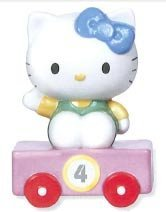 Precious Moments Hello Kitty Train Car Number 4 Figurine
