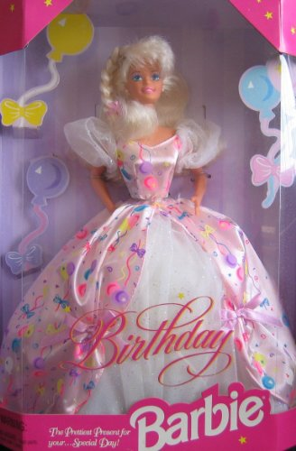 Birthday Barbie バービー Doll The Prettiest Present For Your...Special Day! (1996) 人形 ドール