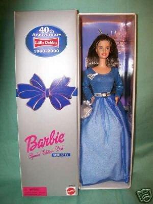Little Debbie 40th Anniversary Barbie バービー: Series IV 人形 ドール