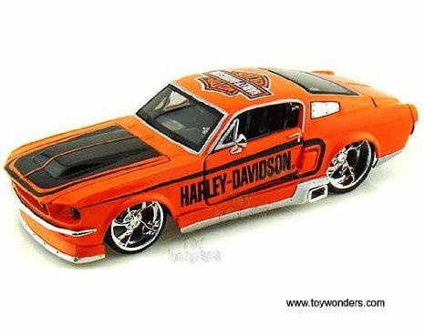 32168or Maisto (マイスト) Hd - Ford (フォード) Mustang (マスタング) Gt Hard Top Harley-davidson (1