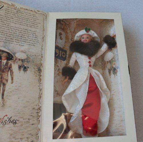 バービーBarbie Year 1995 Hallmark Special Edition 12 Inch Doll - Holiday Memories Barbie with Red