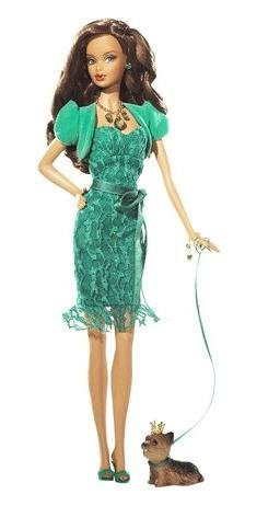 Barbie バービー Collection Birthstone Beauties African American - Emerald May - L7576 人形 ドール