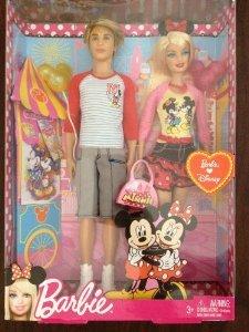Ken and Barbie(バービー) Going to Disney ドール 人形 フィギュア