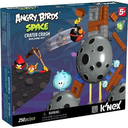 K'Nex Angry Birds アングリーバード Space Crater Crash Building Set [250 Pieces] フィギュア ダイキ