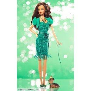 Birthstone Beauties Barbie African-American Miss Emerald May L7576