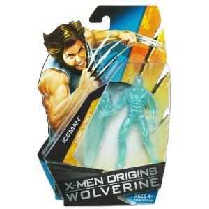 X-Men Origins Wolverine Comic シリーズ 3 3/4 インチ Action フィギュア Iceman