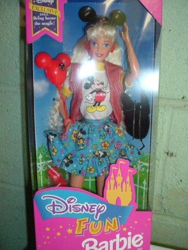 Disney ディズニー Fun Barbie バービー - Third Edition 人形 ドール