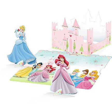 Disney Princess Decor Book ディズニープリンセスのインテリアブック♪ハロウィン♪サイズ: