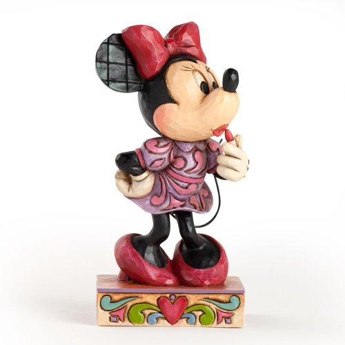 Enesco Disney Traditions by Jim Shore Minnie Mouse Figurine, 4-Inch