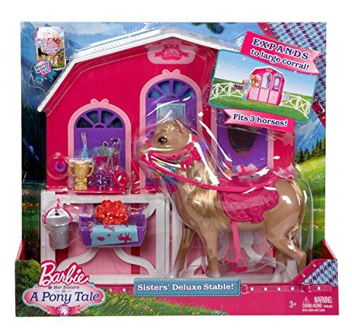 【現金特価】 バービー・Mattel Barbie Y7554「幸福の馬 Barbie、プレイセット」, ツナグン:10523343 --- konecti.dominiotemporario.com