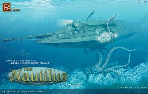 ノーチラス号 プラモデル 海底2万マイル 1/144模型