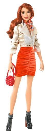 バービーBarbie Stardoll by Barbie Bisou - Orange Doll  W2204