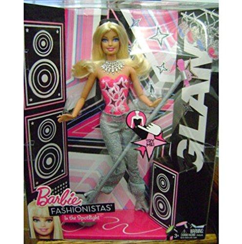 Barbie バービー Fashionistas In The Spotlight Glam Doll ドール