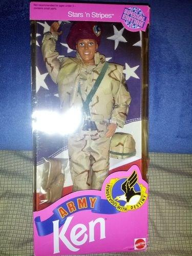 バービーStars 'N Stripes Army Barbie 1992  5618