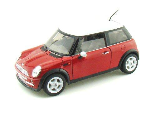 Welly (ウィリー) Mini Cooper (ミニクーパー) 1/18 Red WE19851-RD ミニカー ダイキャスト 自動車