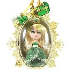Barbie バービー Peekaboo Petites Snowflake Flurries Doll Collection - #33 Christmas Wish Christabe