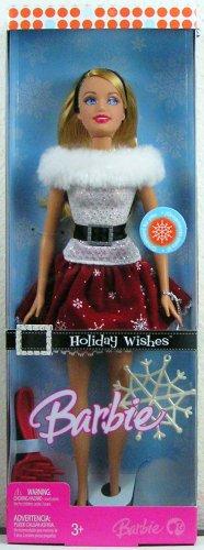 バービーHoliday Wishes Barbie Doll  J9207