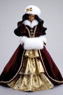 RARE, STUNNING Walt Disney ディズニー HAPPY HOLIDAYS AFRICAN AMERICAN Barbie バービー 1996. Specia