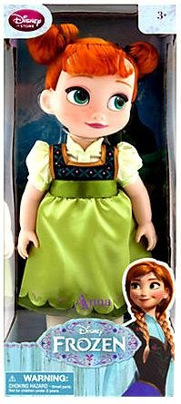 Disney Store Frozen Anna Animators Collection Toy Doll 16