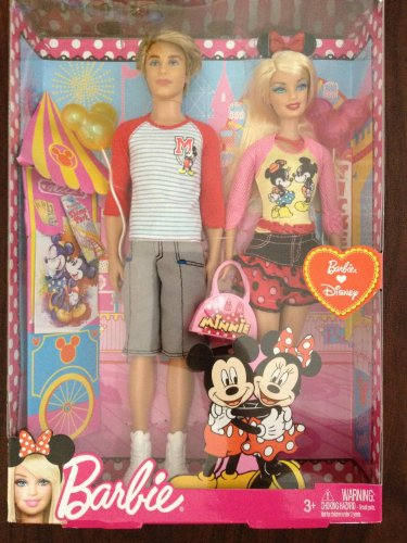 Ken and Barbie バービー Going to Disney 人形 ドール