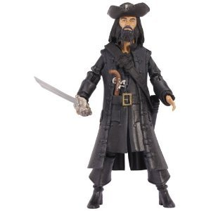 Pirates Of The Caribbean Basic Figure Wave #1 Blackbeard V1P4 パイレーツオブカリビアンベーシック