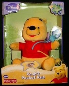 Fisher Price フィッシャープライス Winnie the Pooh's Pocket Pals ぬいぐるみ 人形