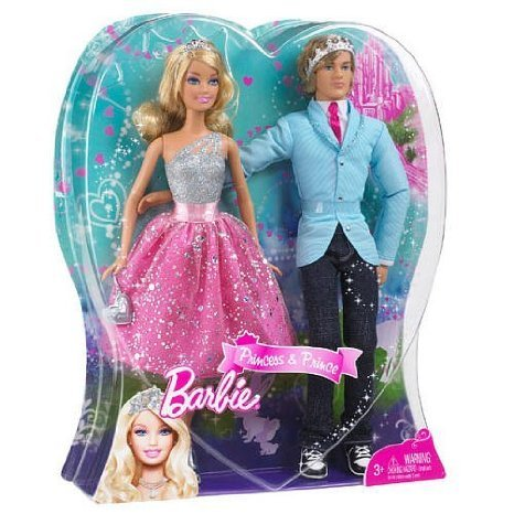 Barbie(バービー) doll Prince and Princess Gift Set (ギフトセット) (Styles may vary) ドール 人形 フ