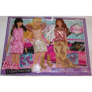 Barbie バービー Fashionistas Day Looks Clothes - Glitter & Jewels Outfits