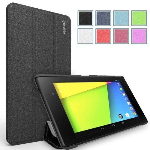 Poetic Slimline Case for Google Nexus 7 2nd Gen 2013 Android Tablet Black (With Auto Wake / Sleep