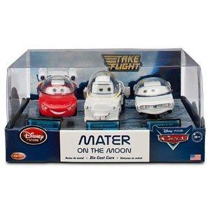 Disney (ディズニー) / Pixar (ピクサー) CARS TOON Exclusive 148 ダイキャスト 3Pack Mater on the Moo