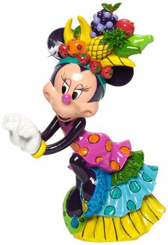 Enesco Disney by Britto Minnie Mouse Samba Figurine 8.5-Inch/ロメロブリット/ディズニー/ミニーマウ