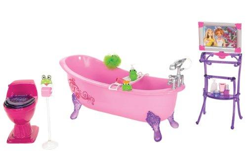 バービー ピンクだいすきベーシック家具シリーズ ピンクだいすき バービーのバスタブ N4900