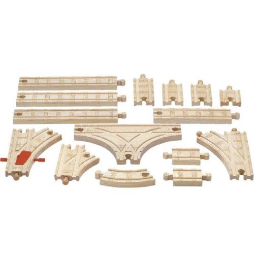 ラーニングカーブ きかんしゃトーマス 木製レールシリーズ 拡張線路セット(ベーシック) 99951