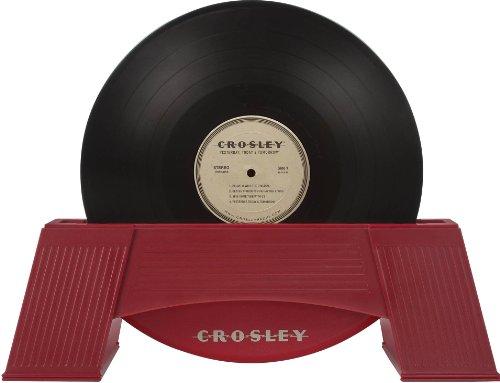 AC1001A-RE レコード・ワッシャー ビニールクリーナー Crosley社 Red