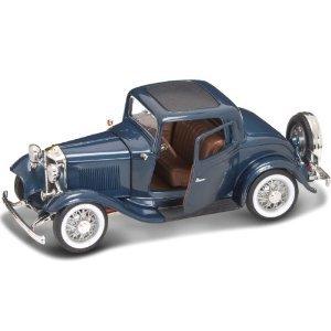Yat Ming ヤトミン スケール 1:18 - 1932 Ford フォード 3-Window Coupe ダイキャスト ミニカー 模型