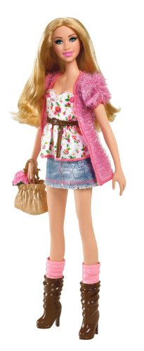 Barbie バービー Fashion Stardoll Doll - Mix and Match Trendy, Original Fashions and Accessories 人