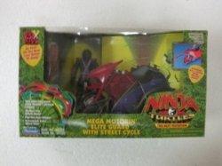 Ninja Turtles The Next Mutation Mega Motorin Elite Guard アクションフィギュア With Street 131002fn