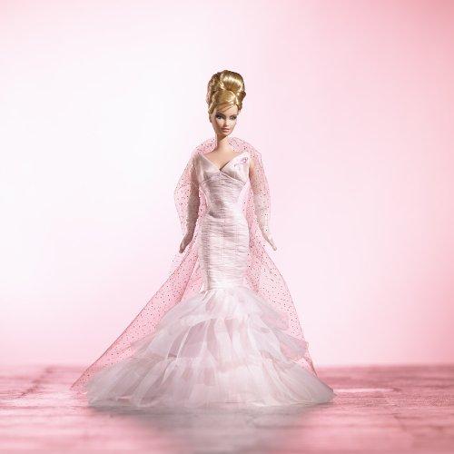 バービー Barbie Collector Pink Ribbon Barbie Doll by Mattel   J0932