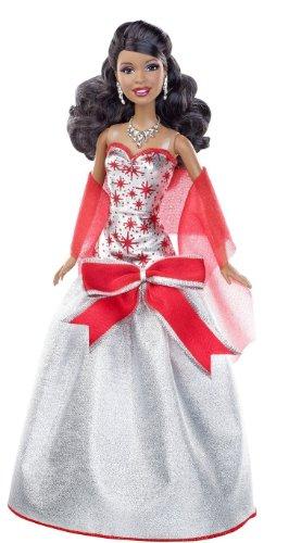 Barbie バービー Holiday Sparkle Barbie バービー African-American Doll 人形 ドール