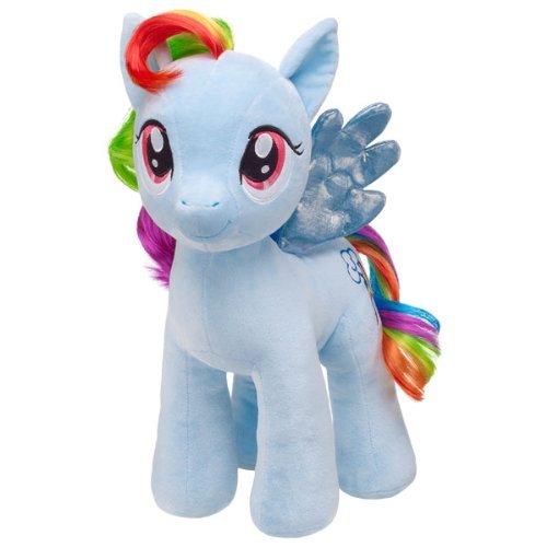 16 in. RAINBOW DASHR My Little Pony マイリトルポニー Stuffed Animal Build A Bear Workshop Inc ぬい