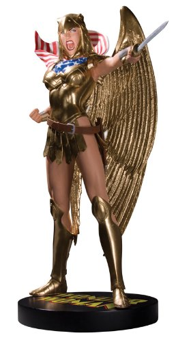 Cover Girls Of The DC Universe - Statue: Armored Wonder Woman (By Adam Hughes)