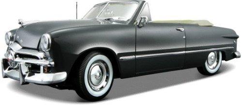 1949 Ford フォード Convertible Gray Diecast Car Model 1:18ミニカー モデルカー ダイキャスト