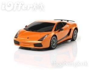 RASTAR 26300 1:24 6 Channel Remote Control Lamborghini Ultralight Sports Car Model with Light (Ora