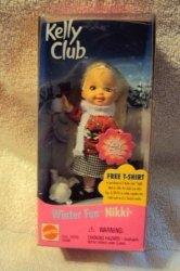 バービー ケリー クラブ ウインター Fun Nikki ドール 131002fnp