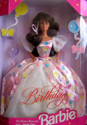 Birthday Barbie バービー Doll (Brunette) - Prettiest Present For Your... Special Day! (1996) 人形