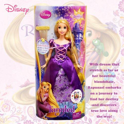 [ディズニー]Disney Tangled Hair Extension Doll/塔の上のラプンツェル ヘアーエクステンション人形